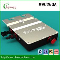 High quality mini solar water pump inverterr wvc260a 25 years lifetime waterproof ip67