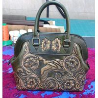 Latest Ancient Classic Style Fashionable 100% handcraft Ladies Tote Bag - SZCM005