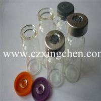 Brown and clear glass bottles and vials thumbnail image