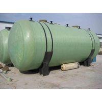 Horizontal FRP/GRP tank