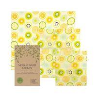 Vegan food wrap assorted 3 pack thumbnail image