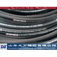 Hydraulic hose for pressure mineral oil