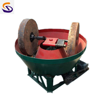 Professional China Wet Pan Mill Grinding Machine for Gold Selection with Reasonable Price thumbnail image