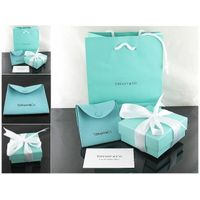 tiffany & co 5-piece packaging sets new small,jewelry boxes,package,gold jewelry,silver jewelry,sung
