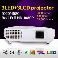 Real 1080p home theater projector with TV turner