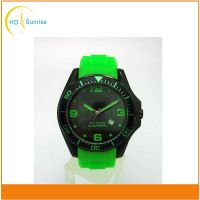 2016 new products top brand men's sport watch with silicone band and large face Hot in US and Russia thumbnail image