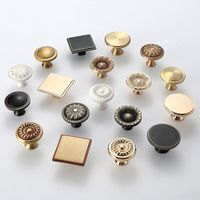 Wholesale Brass Single Hole Cabinet Drawer Knobs