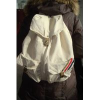 fashion cotton canvas backpack
