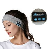 2019 Smart Music Hair Band Wireless Music Headband Knitted Sport Running Yoga Sweat Hairdo Scarf