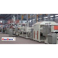 PC hollow profile sheet extrusion line, pc hollow sheet making machine,pc hollow profile sheet equip