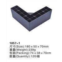 Bulk supply L-shape plastic sofa legs/plastic furniture legs/bed legs/plastic furniture parts