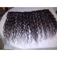 Machine weft Virgin Human Hair with clip