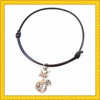 smelly cat reusable pendent charm bracelet