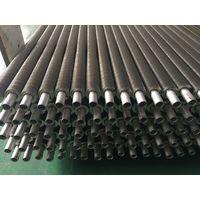 Laser welded finned tubes