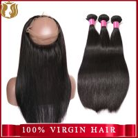 Sunshine 100% human hair lace closures, the virgin hair company thumbnail image