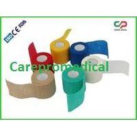 Non-woven adhesive bandage