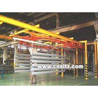 Aluminium profile coating line