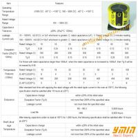 Standard SMD Capacitor SMD Aluminum Electrolytic Capacitor for SMT thumbnail image