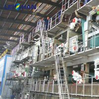 Coated duplex board paper making machine