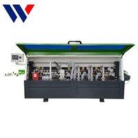 Pvc Hot Melt Gule full automatic Edge Banding Machine With cutting