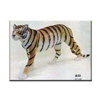 toy tiger,  toy animals Fur Animal craft