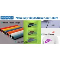 Make Any Vinyl Sticker by Laser on Shirt thumbnail image
