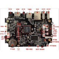 A20 Extensible Laptop Android Motherboard Dual core PCB ddr3