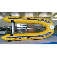Clear or transparent inflatable boat SXV350PC