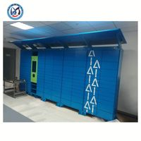 Metal Storage Lockers Express Delivery Parcel Lockers