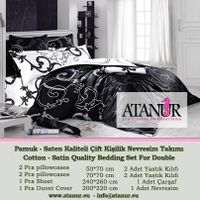 Cotton-Satin Bedding Set AT.CS02