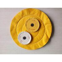 yellow cotton buffing cloth wheel thumbnail image