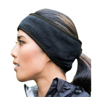 Fleece Headband with back hole