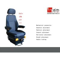 Mechanical suspension driver seat