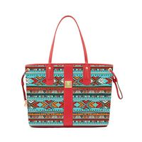 PU leather quality printing Woman Handbags