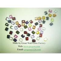 10x12mm cubic zirconia (CZ) rectangle (faceted cut) thumbnail image