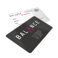 Club visit card preprinted embossed magnetic stripe band PVC membership cards thumbnail image