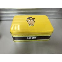 Metal Cookies Tins Packaging Boxes