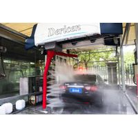 advanced china touch free car wash machine