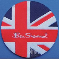 high quality woven label  badge