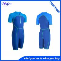 Hot one piece kids swim wear suit front zipper more color for choose fashion style summer gift for c