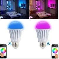 bluetooth shenzhen led light bulbs with led remote control