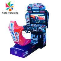 Colorful Park Outrun (HD) Arcade Car Racing Game Machine