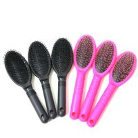Harmony black and pink hair extension loop brush thumbnail image