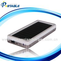 with 1350mAH polymer li-ion battery solar charger