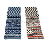 MC-0086, 100% Acrylic Knitted Scarf