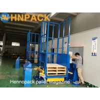 Factory Direct Sales Automatic Pallet Stacker/In-line Auto Pallet Dispenser & Collector/Pallet Stack thumbnail image