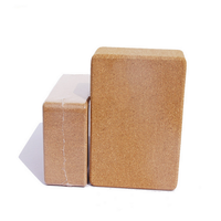 369inches & 469inches Laser LOGO Cork Yoga Block