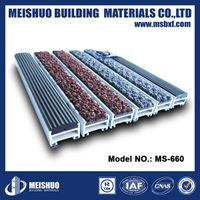 Heavy duty aluminum entrance mats
