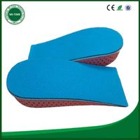 Personalized design eva memory foam half increase women insole