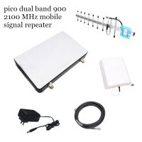 Dual band 2g 3g 900 2100Mhz signal repeater, gsm wcdma mobile booster amplifier